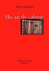 """couverture livre """"un an de cabane"""""""