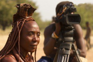 Les Himbas font leur cinéma