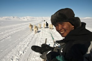 Groenland-côte est-communauté Inuit d'Ittoqqortoormiit-chasseurs Inuits