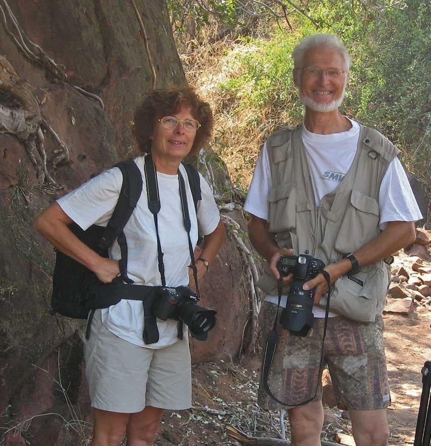 Nicole et Stéphan Szymandera