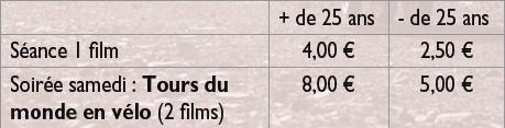 tarifs ecoles 2014